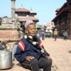 On a warm Sunday afternoon, I met him in Patan Darbar Square