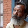 """One day I was walking back from Pashupati Temple when my he"